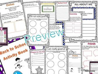 Back to School (Activity Book for KS1/KS2)