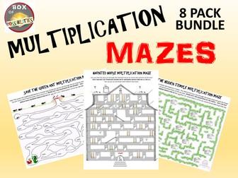 Multiplication Activity: Multiplication Mazes