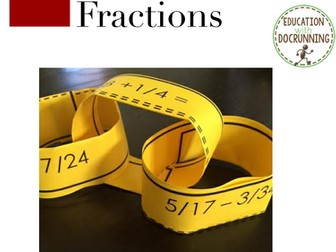 Fractions: Add and Subtract Fractions Practice and Review Activity