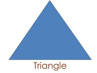 Introducing Shape: Triangle