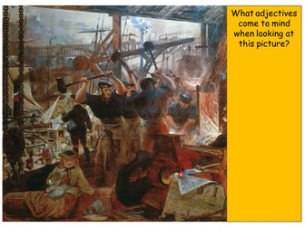What caused the Industrial Revolution?