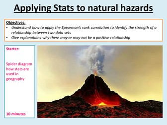 EDEXCEL A LEVEL 2016 L16 Applying stats to Hazards