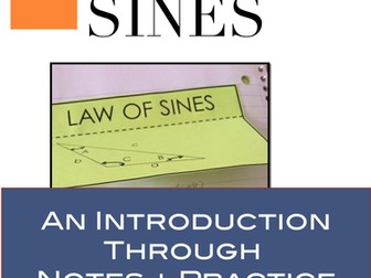 Law of Sines: Notes and Practice for Law of Sines (Trigonometry)