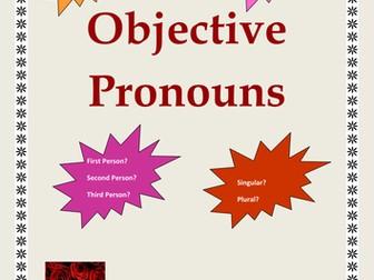 Objective Pronouns
