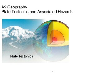 A2 Geography: Plate Tectonics 67 Page Student booklet