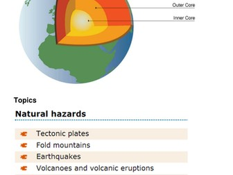 GCSE Geography: Earthquakes 46 Page Student Booklet