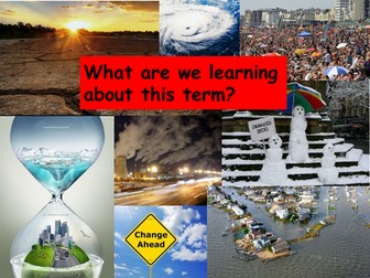 Climate Change - set of 14 lessons