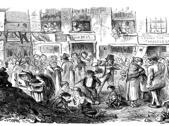 Industrial Revolution - Living conditions in towns and cities