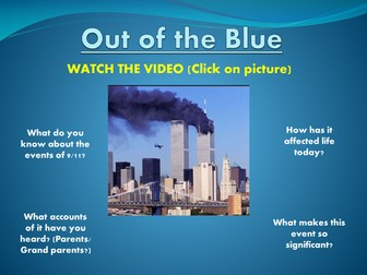 Out of the Blue - Simon Armitage - 9/11 Poem