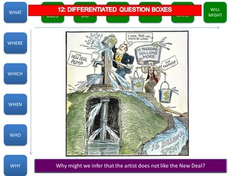 Differentiated questioning tool