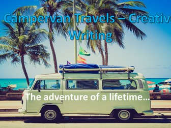 Campervan Travels – Creative Diary Writing