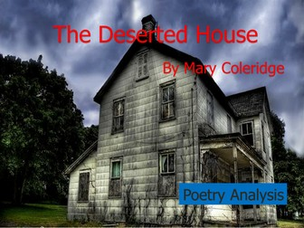 descriptive writing of a haunted house