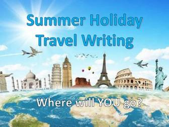 Summer Holiday Travel - Creative Writing