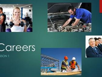 PHSE Unit of work - Careers