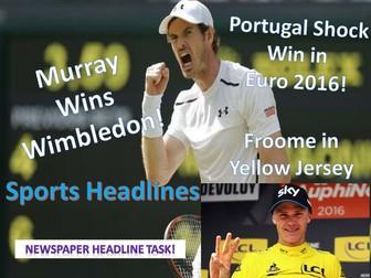 Sports Headlines - Non-Fiction
