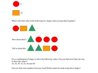 Adding investigation using shapes