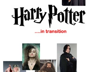 Maths Transition Project - Harry Potter in transition!