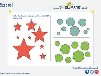 Maths starter: Position and direction of shapes
