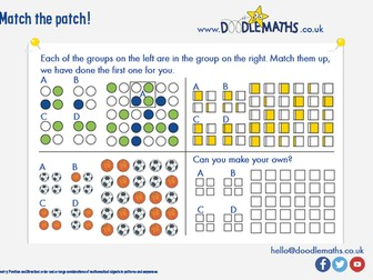 Match the patch: making and matching patterns