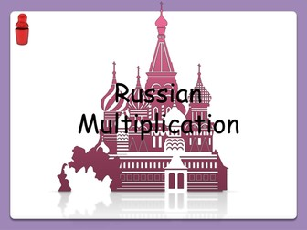 Russian Multiplication -multiplication using halving,doubling and addition- Functional Skills E3 L 1