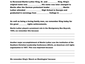 Eulogy of Martin Luther King Jr.