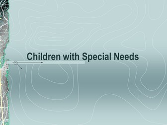 Powerpoint - children with special education needs