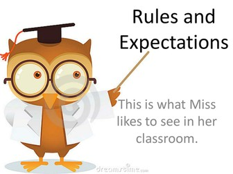 Rules and Expectations for your Classroom