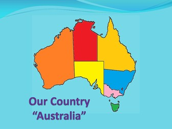 Australian States, cities and features