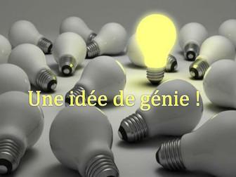 Une idée de génie - Group project (series of lessons) based on Dragon's Den