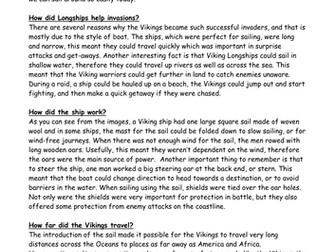 viking longship explanation
