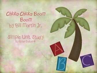 Chicka Chicka Boom Boom Unit Plan