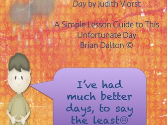 Lesson Guide to Alexander and the Terrible, Horrible, No Good, Very Bad Day