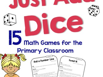 Just Add Dice - Maths Games