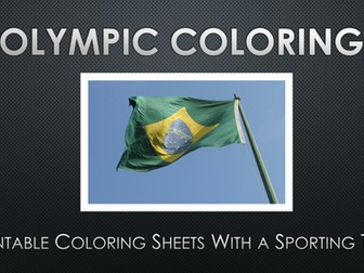 Olympic Games Coloring Images