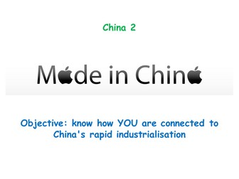 "China 2: ""MADE IN CHINA"""