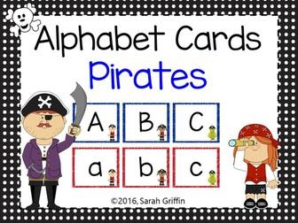 Pirate Alphabet Letter Cards