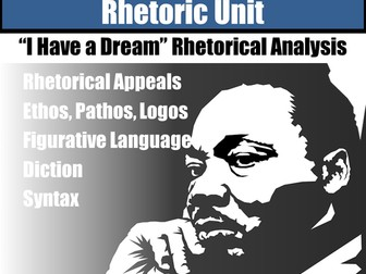 Martin Luther King Jr. I Have a Dream Close Read Rhetorical Analysis