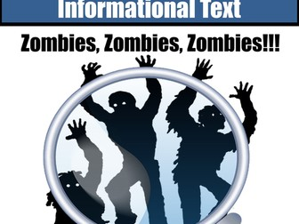 Nonfiction Close Read Zombies Zombies Zombies