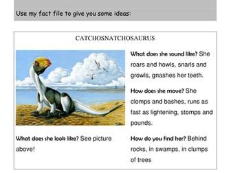 Read Write Inc.: A Dangerous Dinosaur worksheet