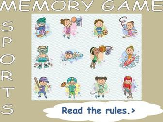 Memory Game Sport
