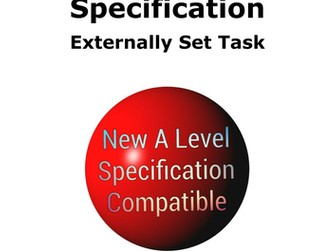 New A level Art Specification External Task Support Document