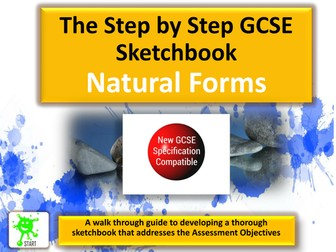 New GCSE Art Specification Component 1 Sketchbook Development Guide