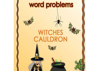Halloween math lesson - word problem investigation