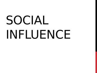 AQA Psychology - Social Influence Revision / Summary