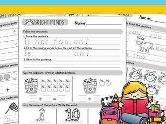 Kindergarten Morning Work - Weeks 10-18