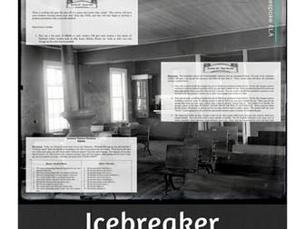 Back to School Icebreaker Ideas