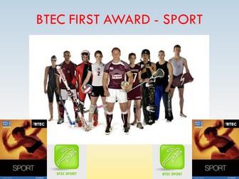 BTEC Sport Level 2 - Unit 5 PowerPoint Presentation