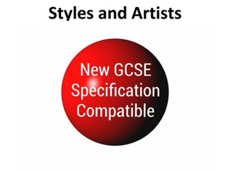 New GCSE Art Specification Compatible History of Art Resource