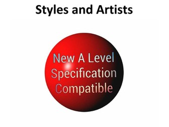 New A Level Art Specification Compatible History of Art Resource