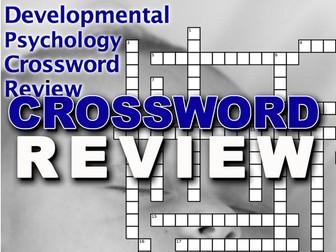 Developmental Crossword Puzzle Review